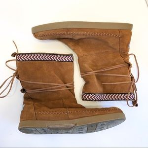 Toms Nepal Suede Boots size 9.5
